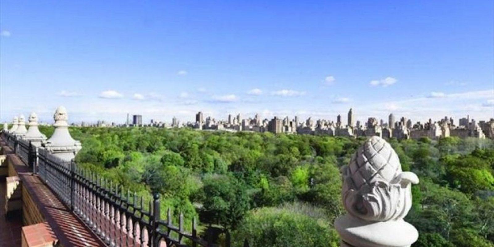 La vista del Central Park. Foto:corcoran.com