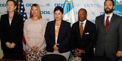 EE. UU. anuncia apoyo millonario para la CICIG