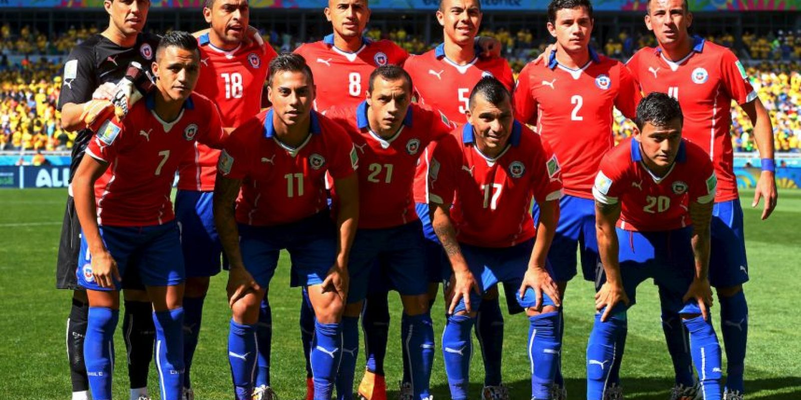 Chile arrancó en gran manera las Eliminatorias de Conmebol rumbo a Rusia 2018. Foto: Getty Images