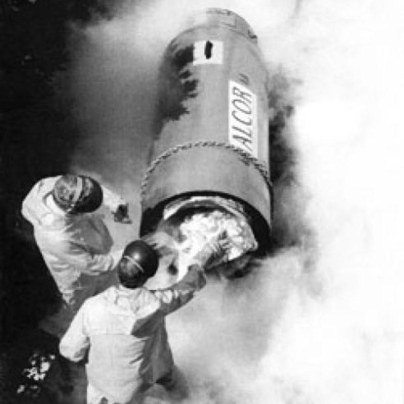 """Dr. James Bedford. Profesor de psiquiatría en la Universidad de California, fue la primera persona en ser conservado criogénicamente. Murió el 12 de enero de 1967 y de acuerdo a la fundación Alcor, es la persona """"viva"""" más longeva del mundo. Foto:Alcor.org"""