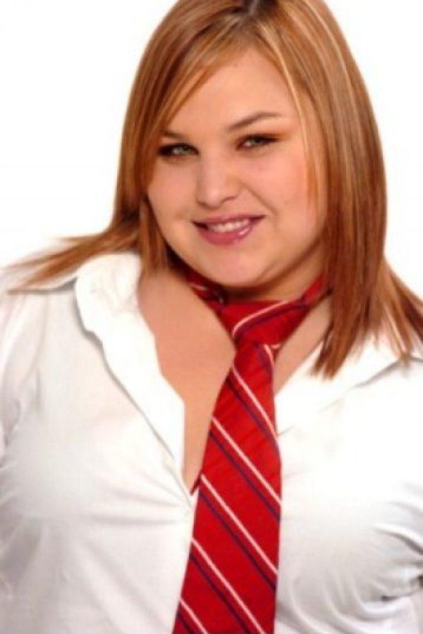 """La actriz de la telenovela """"Rebelde"""" es recordada por su sobrepeso. Foto:vía nstagram.com/estefavillarreal_of"""