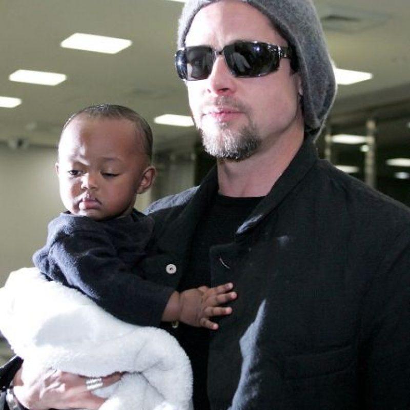 En los siguientes años, los Jolie-Pitt rescataron y adoptaron a Zahara, una pequeña de Etiopía. Foto:Getty Images