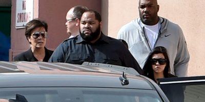 Durante todo este tiempo, la familia Kardashian se ha mantenido a su lado. Foto:Getty Images