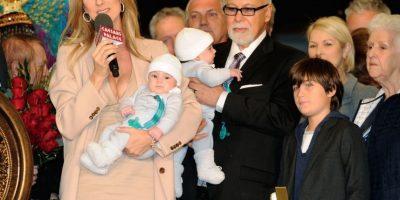 Nelson y Eddy nacieron el 23 de octubre de 2010. Foto:Getty Images