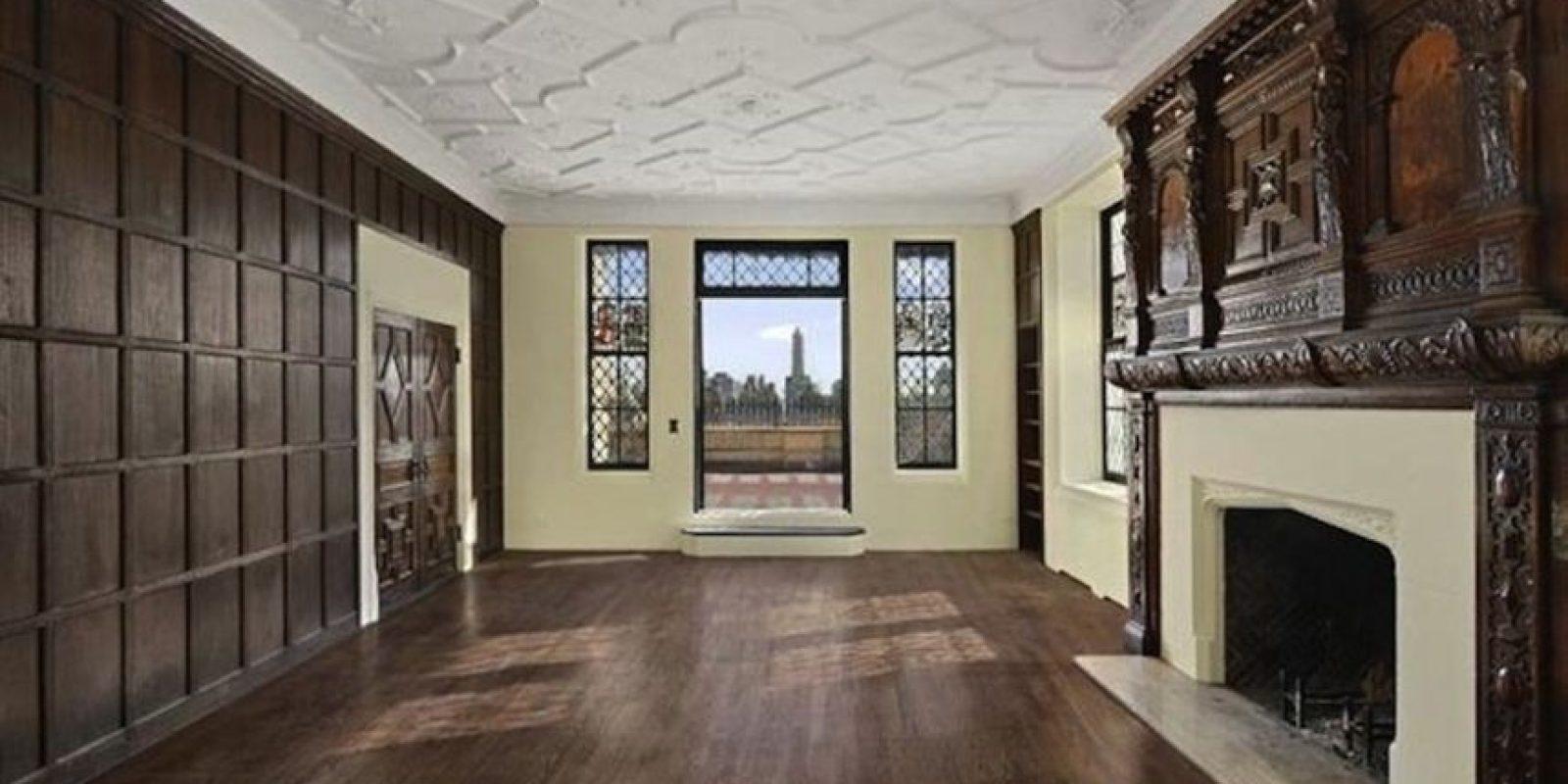 Una de sus salas. Foto:corcoran.com
