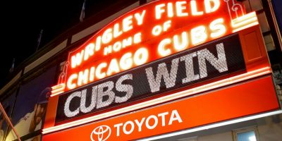En Chicago todo es emoción y alegría por sus Cubs. El equipo de béisbol de la ciudad está en la Serie de Campeonato de la Liga Americana, la antesala de la Serie Mundial. Foto:Getty Images