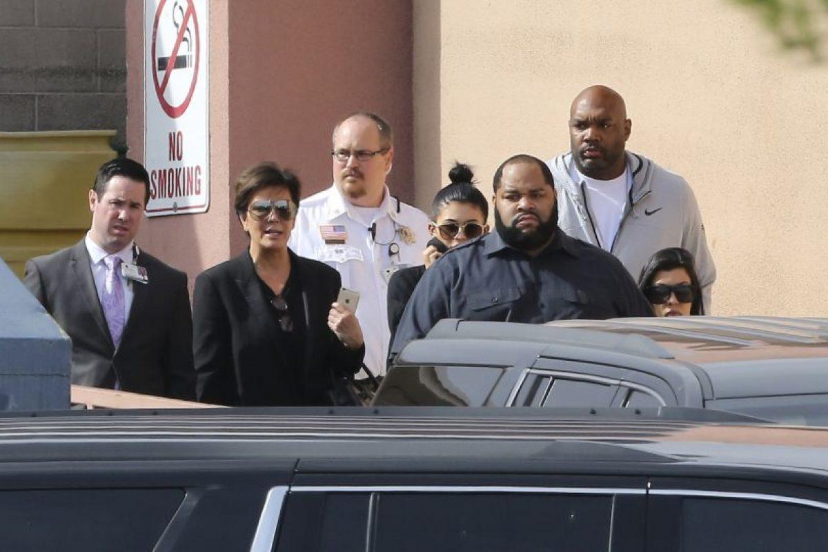 Khloé Kardashian se dirigió a Las Vegas en compañía de su madre, Kris Jenner y sus hermanas. Foto:Grosby Group