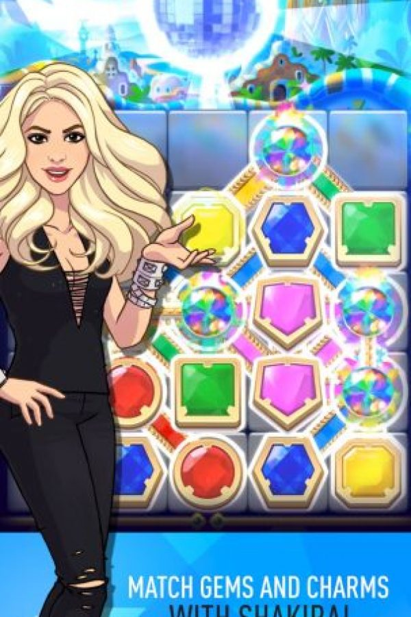 """""""Love Rocks"""" está ambientado con canciones de Shakira. Foto:Rovio"""