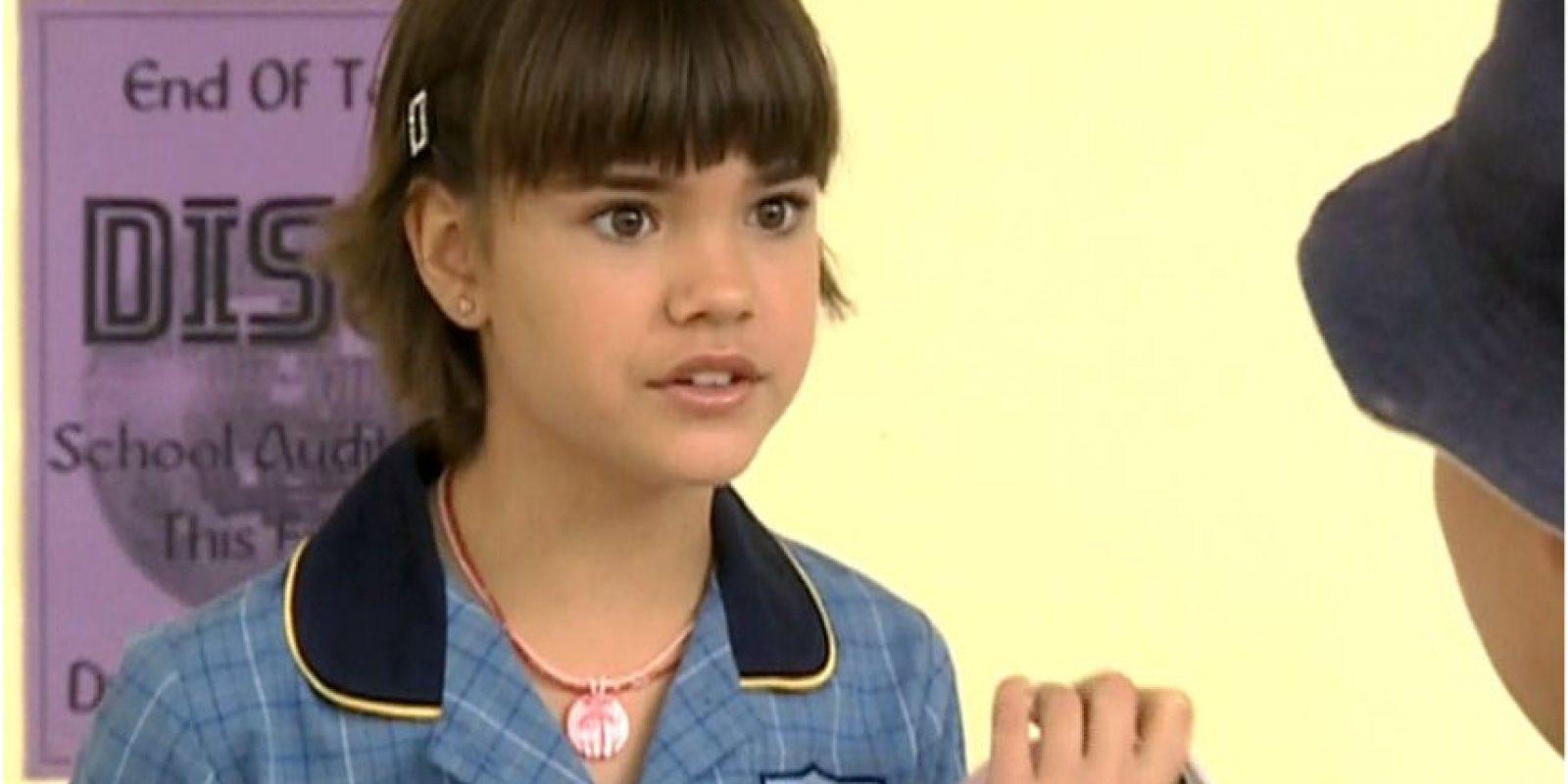 "La australiana le dio vida a la antagonista de la historia, ""Brittany Flune"". Foto:vía childstarlets.com"