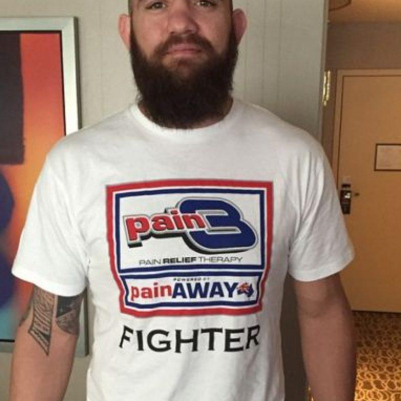 """El peleador Travis Browne hizo pública la relación en una entevista para el programa de radio """"The MMA Hour"""" Foto:Vía instagram.com/travisbrowne"""