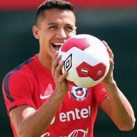 Alexis integra la selección de Chile desde 2006. En 89 partidos disputados lleva marcados 31 goles. Foto:Vía instagram.com/alexis_officia1