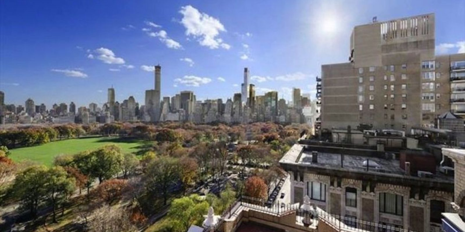 Y la terraza. Foto:corcoran.com