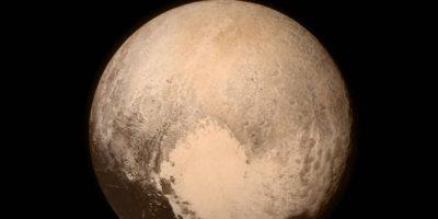Así se ve el corazón de Plutón capturado desde la sonda New Horizon de la NASA. Foto:Vía nasa.gov