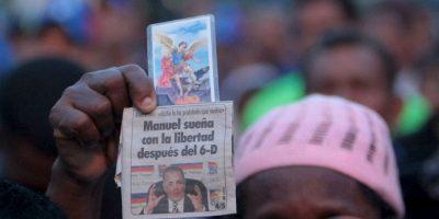 De acuerdo con el político regreso al país a desmentir de lo que se le acusaba. Foto:AP