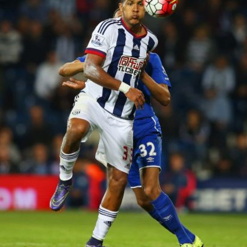 Juega en el West Bromwich de la Premier League. Foto: Getty Images