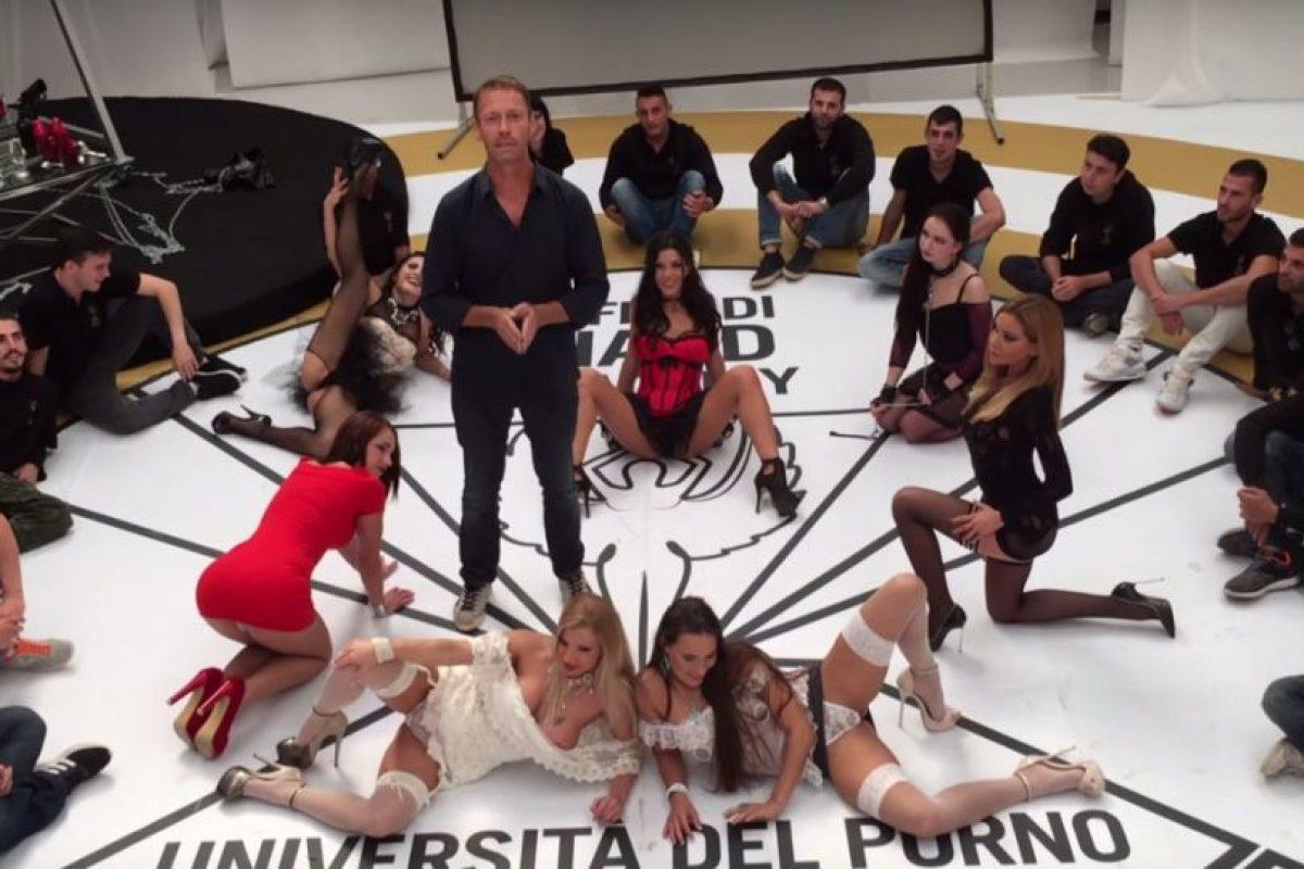 """La """"Universita Del Porno"""" fue fundada por el legendario actor Rocco Siffredi. Foto:vía Youtube"""