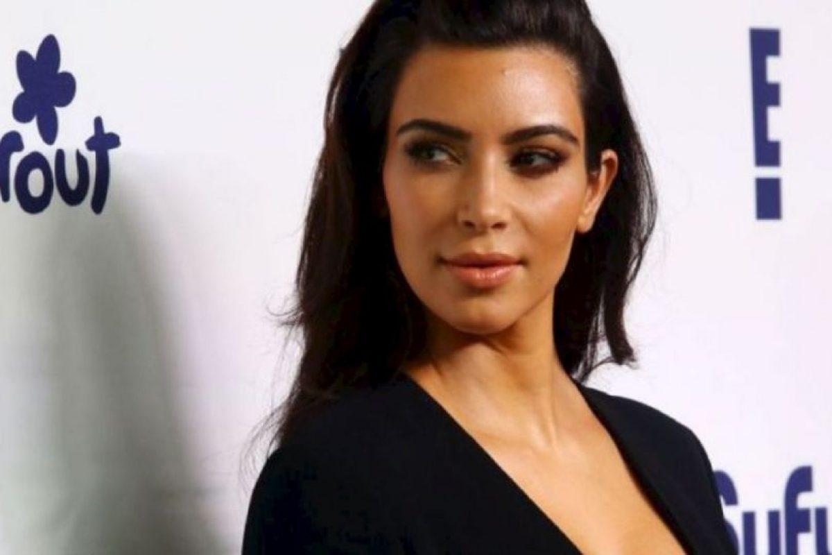 Kim Kardashian alguna vez afirmó que no era tan segura como todo el mundo creía. Foto:vía Getty Images