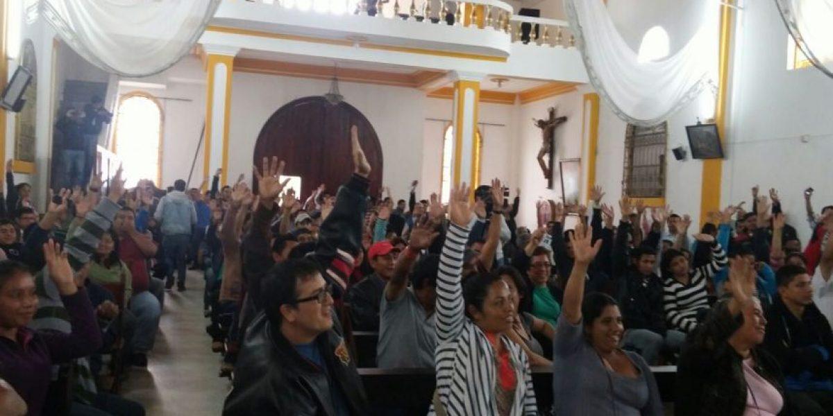 """Vecinos de El Cambray II dan el """"sí"""" para trasladarse a San José Pinula"""