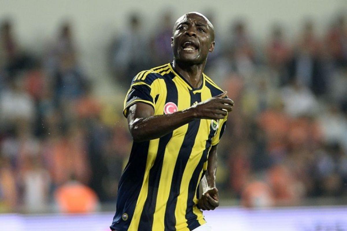 Este jugador camerunés siempre destacó por las ganas que ponía dentro de la cancha. Foto:Getty Images