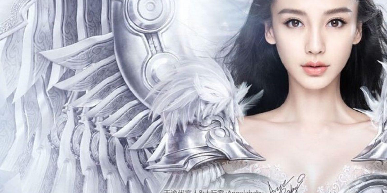 """Ella es la popular """"Angelababy"""" o Yang Ying. Foto:vía Instagram/angelababy"""