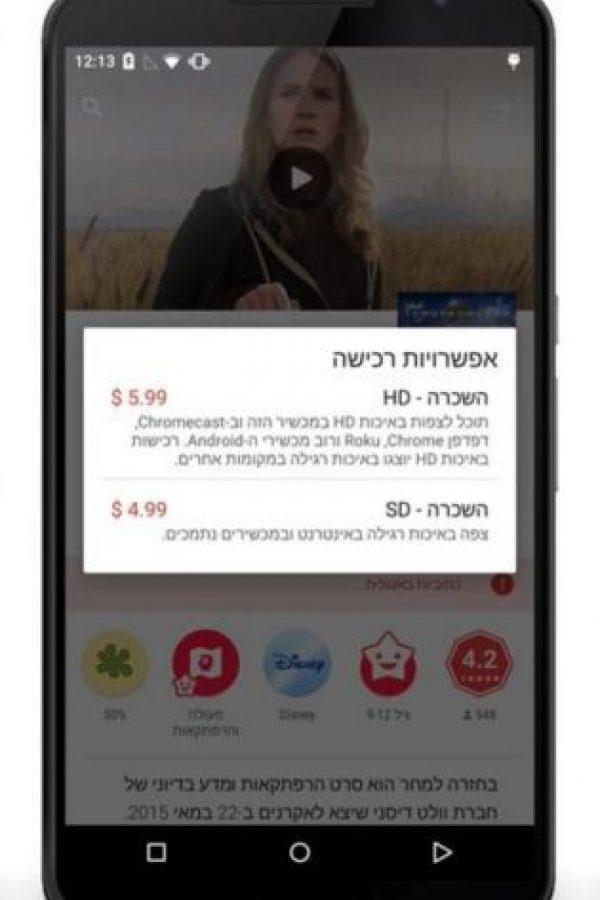 La forma de pagar las apps con costo. Foto:vía plus.google.com/+KirillGrouchnikov
