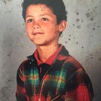 Cuando tenía siete años de edad. Foto:instagram.com/cristiano