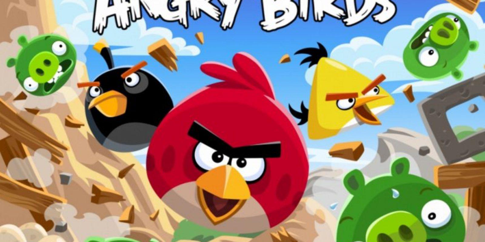"""5- """"Angry Birds"""". Foto:Rovio"""