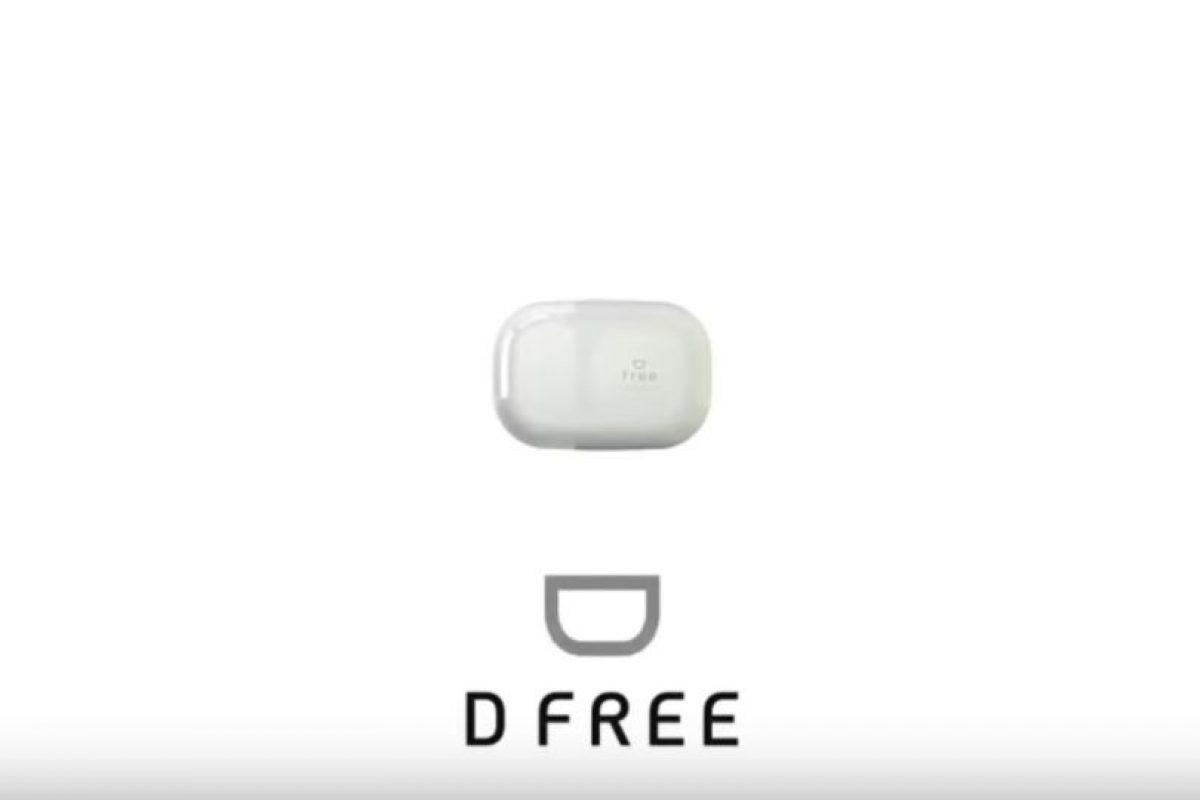 """""""D Free"""" promete indicarles cuándo deben ir al sanitario. Foto:vía dfree.biz"""