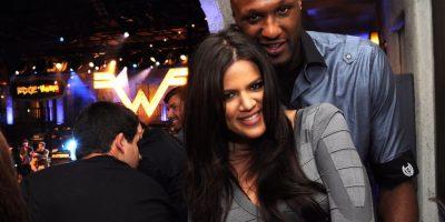 Tras su mal estado de salud trascendió que seguía casado con Khloé Kardashian. Foto:Getty Images