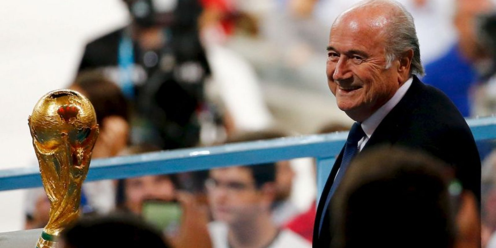 "Joseph Blatter está en el ""ojo del huracán"". Foto:Getty Images"