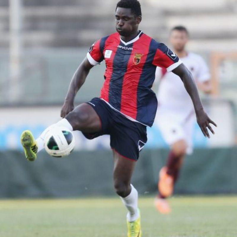 Este futbolista ghanés la pasaría mejor si no sabe qué dice su nombre en español. Foto:Getty Images