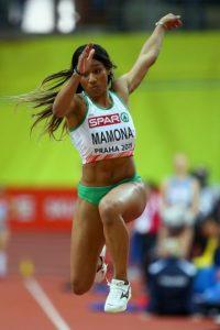 Es una saltadora portuguesa. Foto:Getty Images