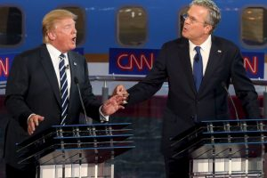 Los dos son precandidatos presidenciales del Partido Republicano. Foto:Getty Images