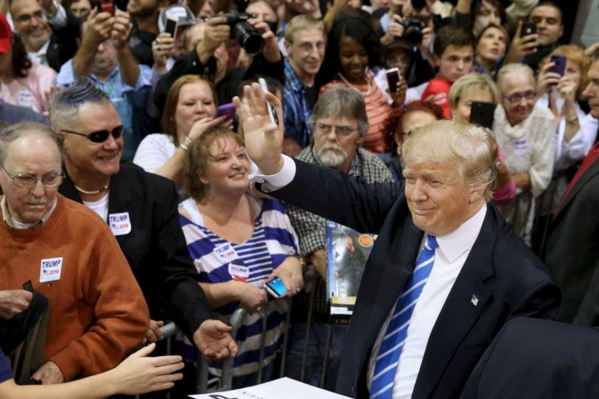 Trump asegura que George W. Bush no protegió a Estados Unidos. Foto:Getty Images