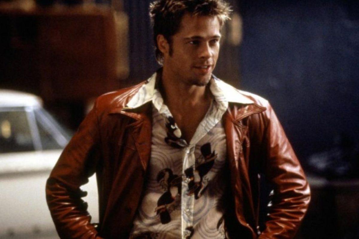 Brad Pitt sigue casi igual desde 1999. Foto:vía Getty Images