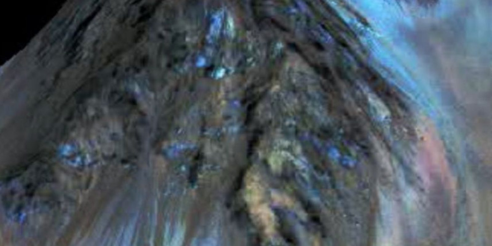 Las imágenes fueron analizadas por la sonda Reconnaissance Orbiter (MRO). Foto:Vía Nasa.gov
