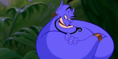 Todo, porque tenía la misma voz del actor que lo dobló (Robin Williams) y tenía cuatro dedos en la mano. Foto:vía Disney