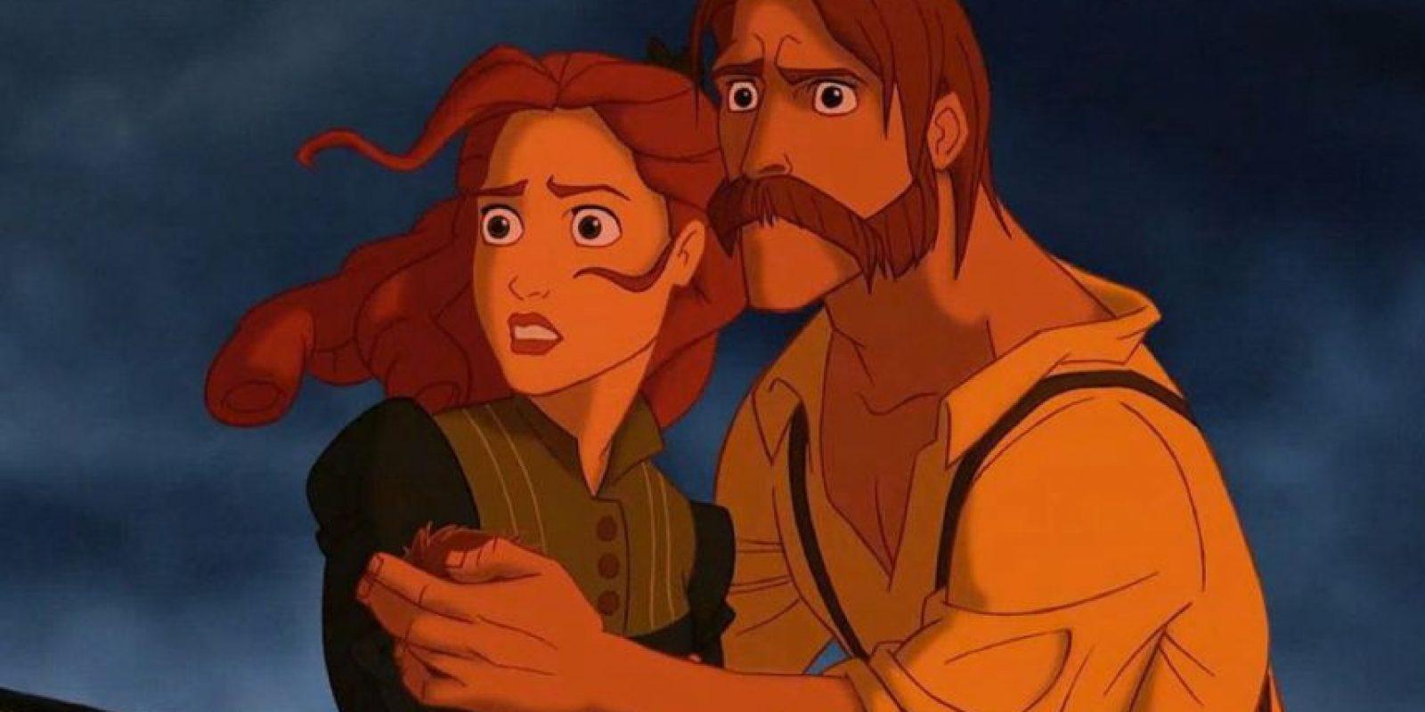Todo sucede cuando los padres de las princesas se van a viajar. Foto:vía Disney