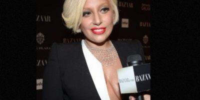 Lady Gaga también es pura sensualidad. Foto:vía Getty Images