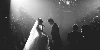 Se acaba de casar con el empresario Huang Xioming en una boda con 2 mil invitados, vestido de Dior y decoración lujosa. Foto:vía Instagram/angelababy