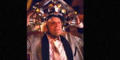 "Christopher Lloyd interpretó al doctor ""Emmet Brown"". Foto:vía IMDB"