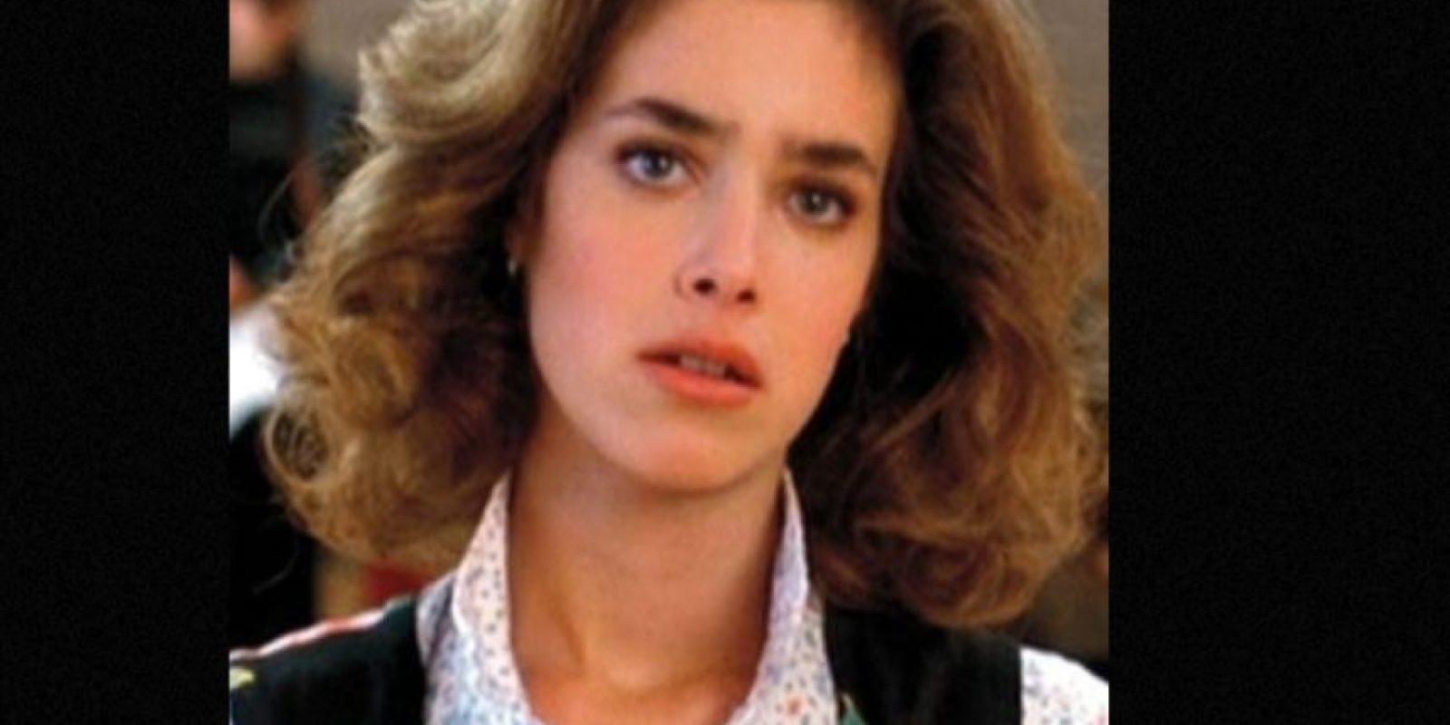 """Claudia Wells era """"Jennifer"""", la novia de """"Marty"""". Foto:vía IMDB"""