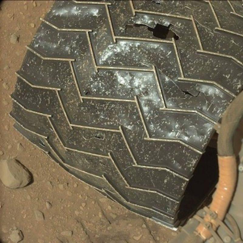 Esto porque las condiciones climáticas de Marte son totalmente extremas a lo que los trajes espaciales actuales pueden soportar Foto:Instagram.com/MarsCuriosity