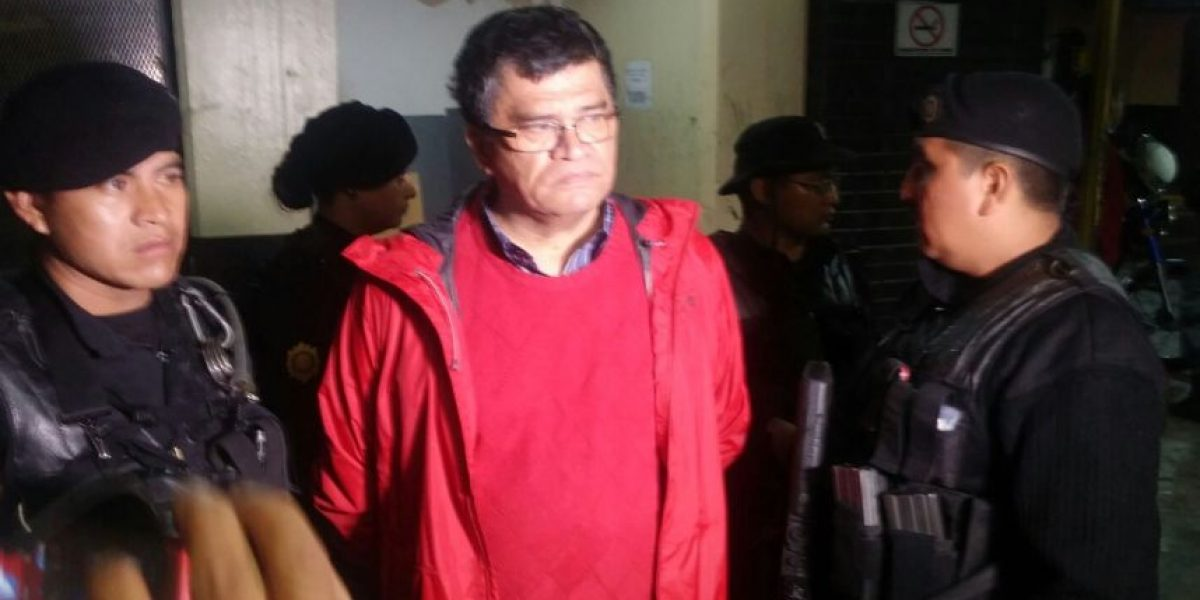 Capturan al alcalde de Chinautla, Arnoldo Medrano