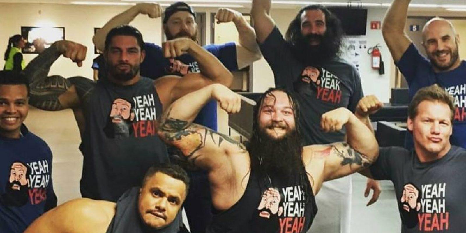 Esta foto fue ma vista por algunos seguidores de la lucha libre Foto:WWE