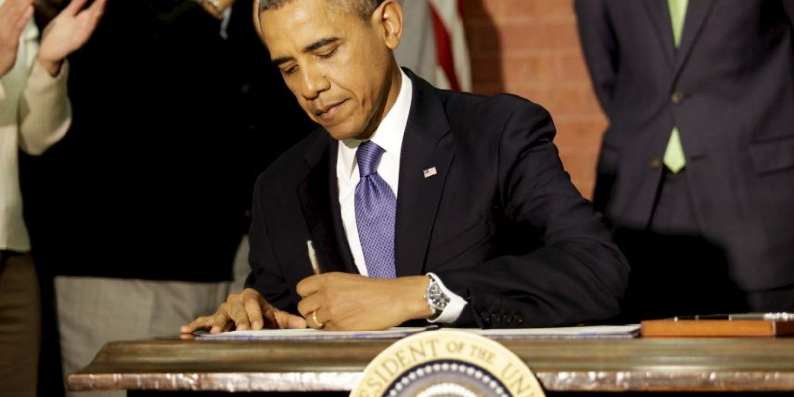 """2. El presidente Barack Obama explicó que """"Los inspectores tendrán acceso a las instalaciones las 24 horas"""". Foto:Getty Images"""