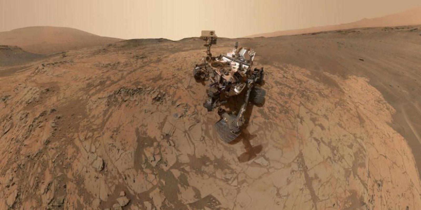 En la película, los astronautas requieren de un hábitat necesario para la exploración Foto:Getty Images
