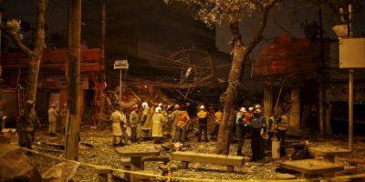Fotos: Así es la devastación que dejó explosión en Río de Janeiro