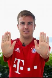 5. Mario Götze. Foto:Getty Images