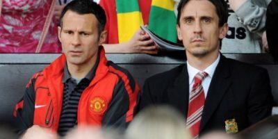 Ryan Giggs y Gary Neville tuvieron un gran gesto solidario. Foto:Getty Images